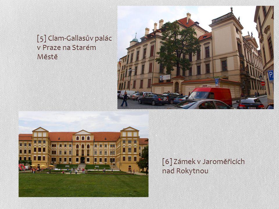 [5] Clam-Gallasův palác v Praze na Starém Městě